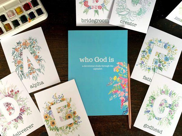 Bible alphabet Who God is