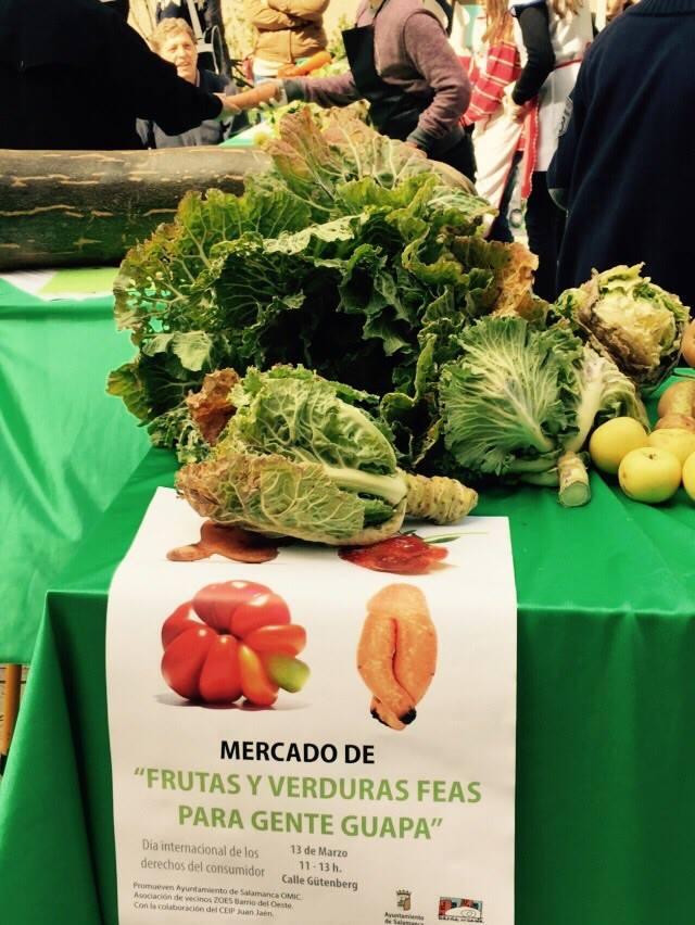 Frutas y hortalizas feas para gente guapa