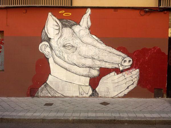 Cerdo, por Marcos Abella