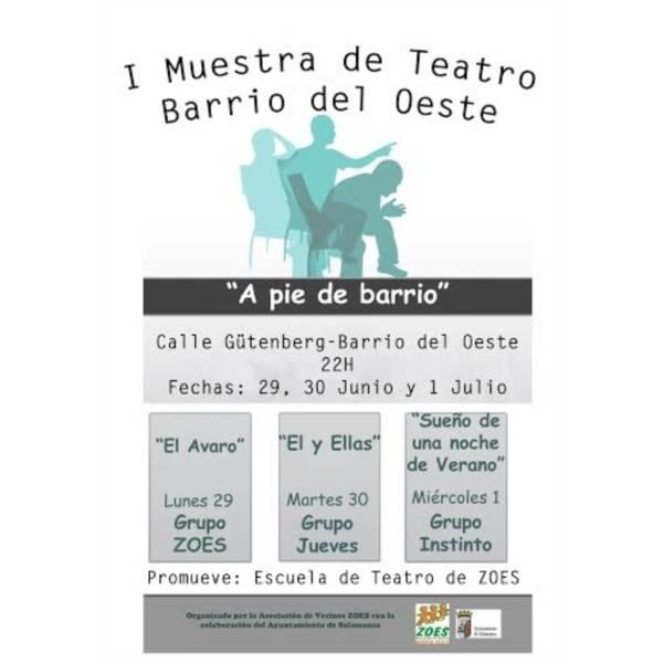 I Muestra de Teatro Barrio del Oeste.