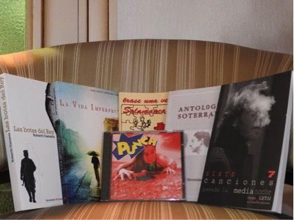 Libros rescatados para la ocasión