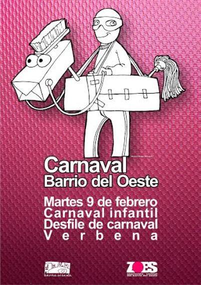 cartel carnaval barrio del oeste 2016 (1)