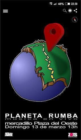 cartel planeta rumbo