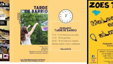 Photo of Este fin de semana  5 planazos gratis en el Barrio del Oeste,  en la Calle Gütenberg actividades para todos y …¡Teatro!