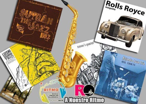 A Nuestro Ritmo 06 Jazz-toy en Salamanca I