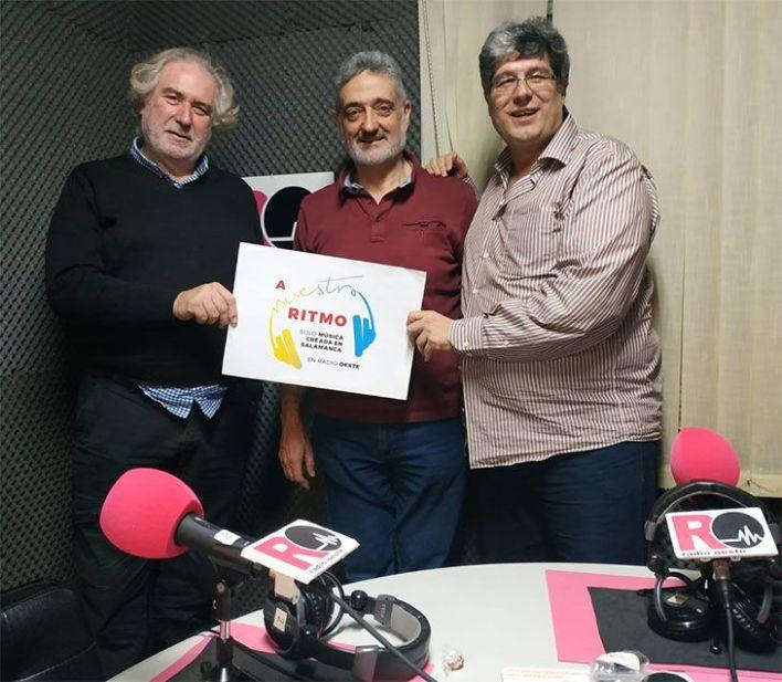 Antonio, Victor y Fernando en Radio Oeste