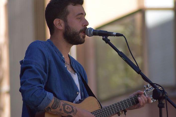 Luis Ullán en concierto ZOES