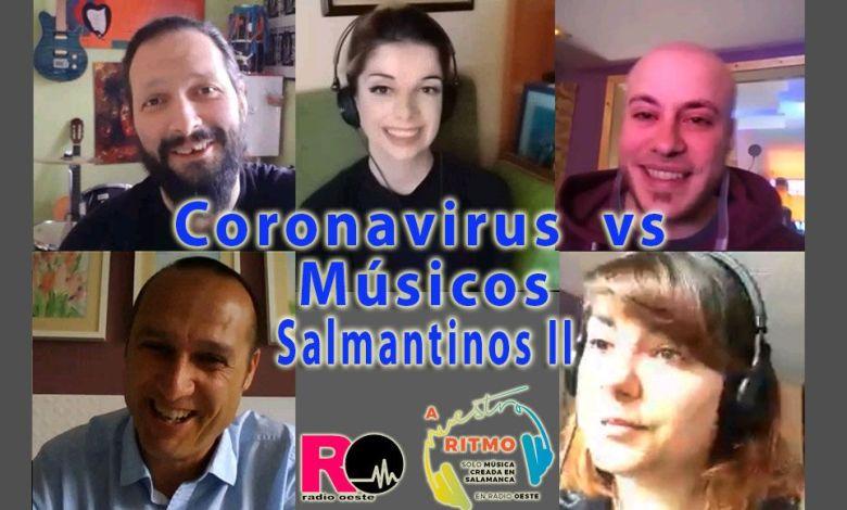 38 Coronavirus vs Músicos salmantinos II - A Nuestro Ritmo