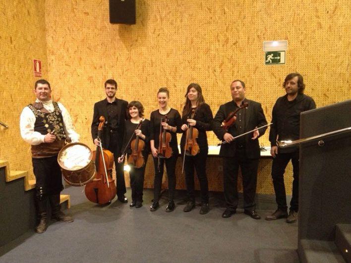 Actuación a favor del Banco de Alimentos de Salamanca, con Chema Corvo, El Mariquelo y su cuarteto