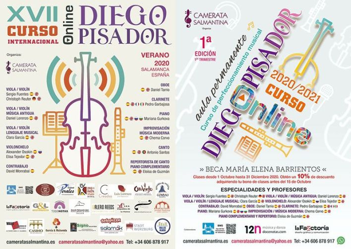 XVII Curso Internacional Diego Pisador (2020)-carteles