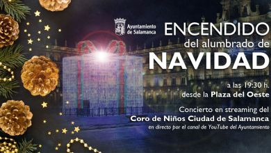 Photo of Salamanca enciende este viernes sus luces de Navidad desde la Plaza del Oeste