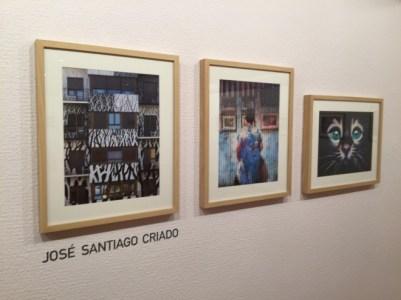 Las imágenes del Barrio del Oeste incluidas en la exposición.