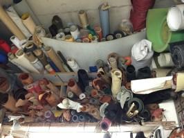 Metros de piel almacenados