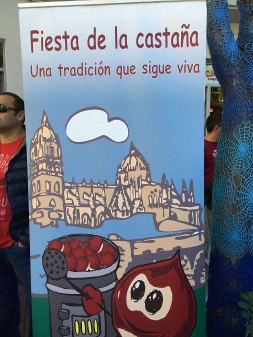 Cartel de la Fiesta de la Castaña