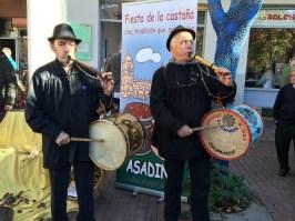 Música tradicional a ritmo de gaita y tamboril