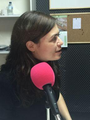La profesora María Sortino.