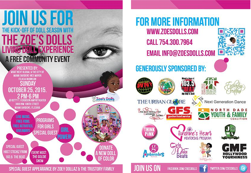 Zoe's Dolls Living Doll Experience 2015