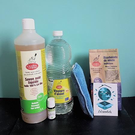 box nettoyant multi usage et sols avec huile essentiel seulement