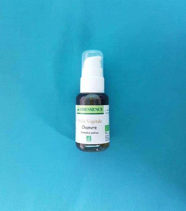 huile végétale de chanvre