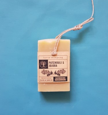 shampoing patchouli et jojoba