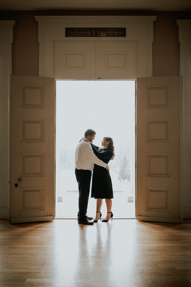 iowa old capitol engagement session