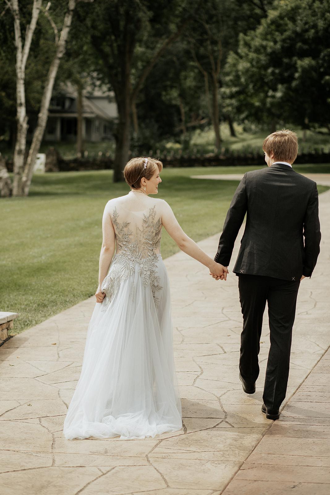 Elegant Midwest Winter Wedding