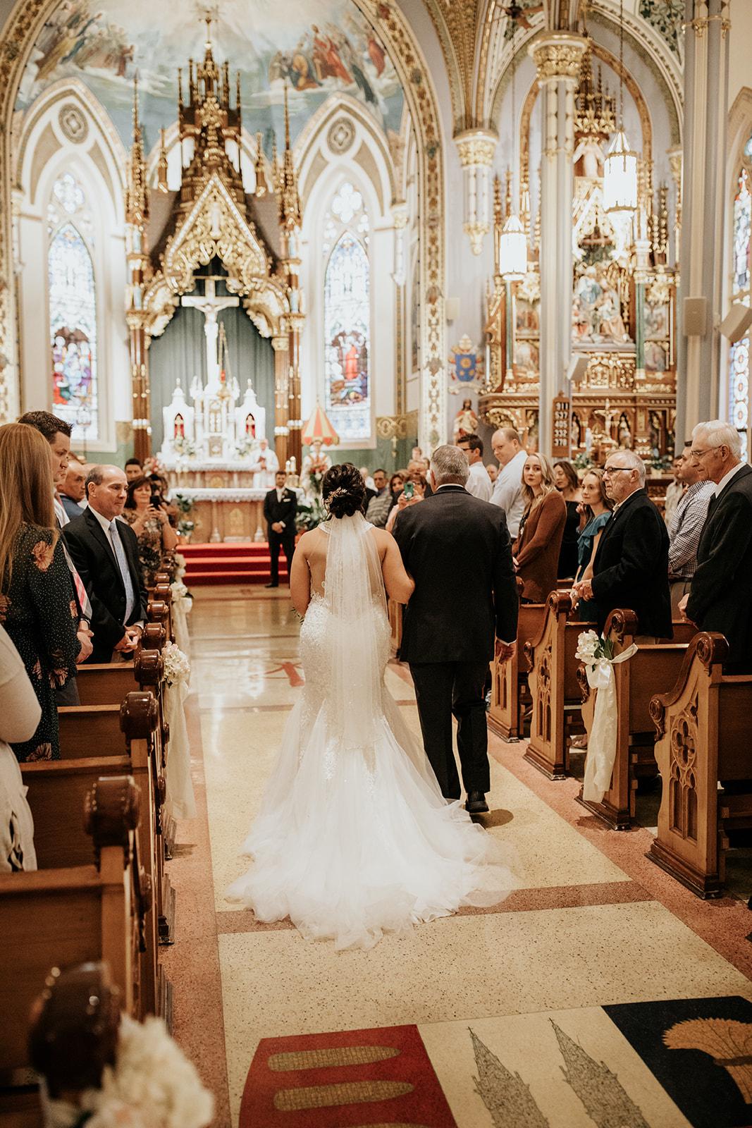 basilica of st francis xavier wedding