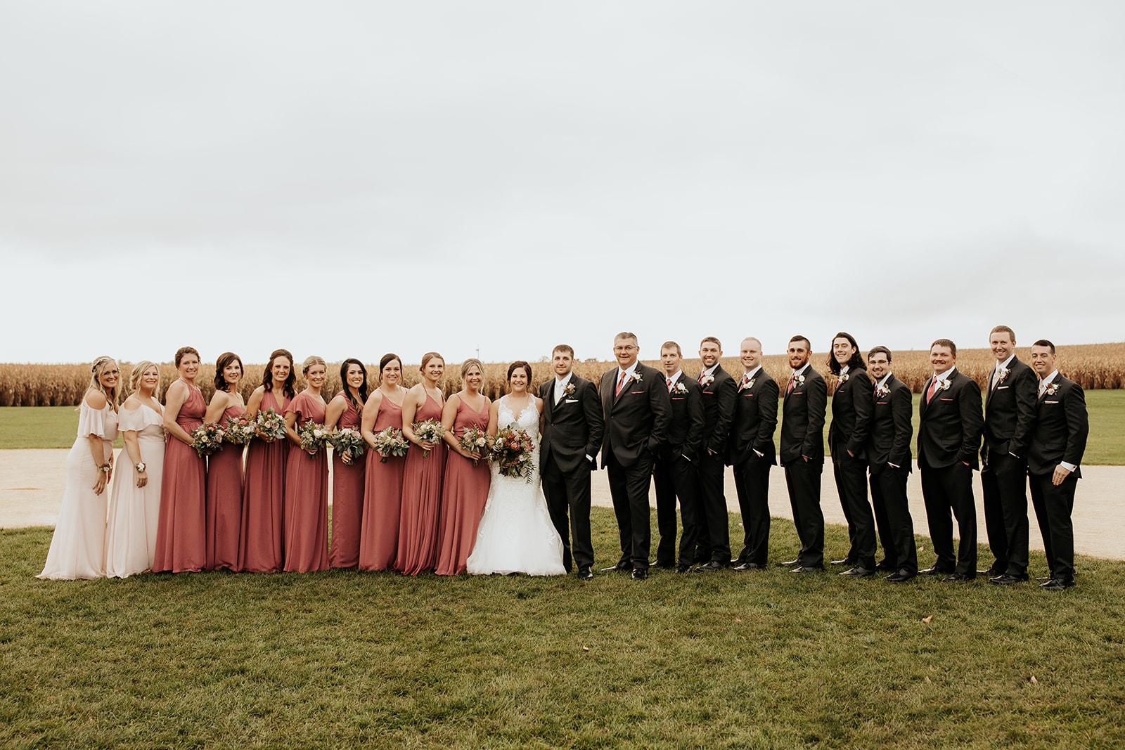 field of dreams baseball wedding