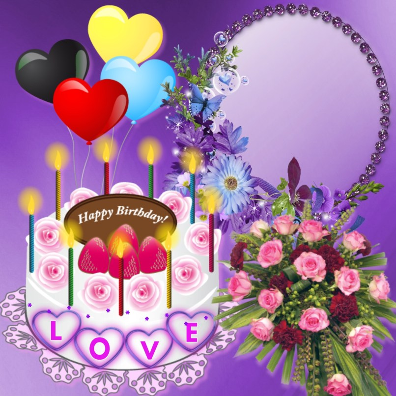 Imikimi Zo Birthday Frames Happy Love Norafg62 Birthdays