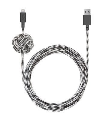 Native Union NIGHT Cable for Apple Lightning Devices 10ft Lightning to USB Charging Cable, Deals on electronics, Deals on USB wires, Cheap USB wires