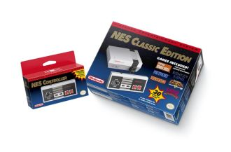 The new NES Classic in it's retail boxed form. Photo Credit - BagoGames