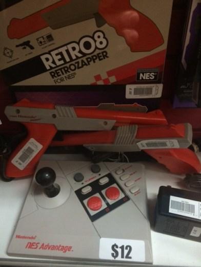Gun accessory for original console at local store.