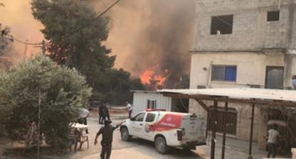"""ח""""כ עודה: כמו הקורונה – השריפות בצפון ובמשולש לא מבדילות בין יהודים לערבים"""