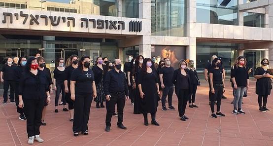 מחאה של זמרי אופרה המפוטרים: שרו את שירת העבדים מאת ורדי