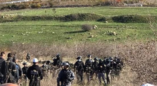 10 מפגינים נפצעו ו-8 נעצרו בהפגנה נגד הקמת טורבינות רוח בגולן שתחת כיבוש