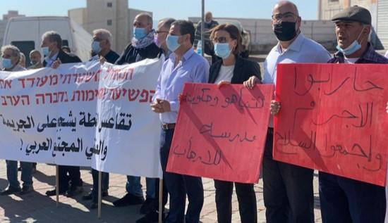 ראש עיריית אום אל-פחם לשעבר נורה ומצבו קשה; הפגינו בטמרה
