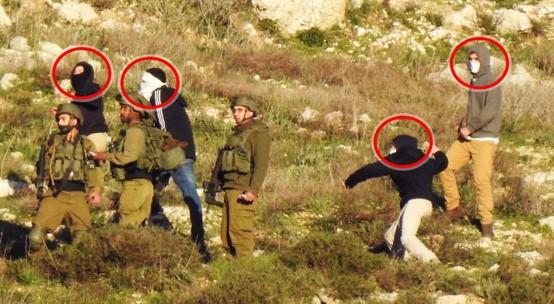 ניסו למנוע הגעת פעילים למחאה בדרום הר חברון; חיילים אבטחו מיידי אבנים לעבר הכפר בורין