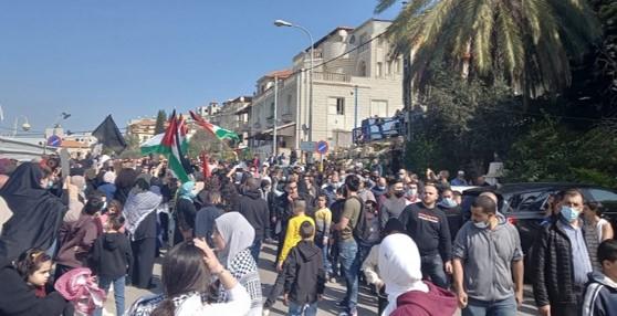 הפגנות בגליל ובמושלש בגלל אזלת ידה של ממשלת הימין במיגור הפשע בחברה הערבית