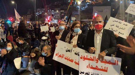 יותר מ-10 אלף הפגינו בטמרה; ברכה: תפרוץ אינתיפאדה עממית למען ביטחונם של האזרחים הערבים