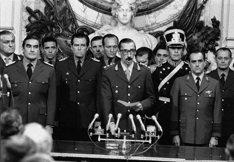 ההפיכה הצבאית ההיסטורית בארגנטינה, הקשר הישראלי והייצוא הביטחוני