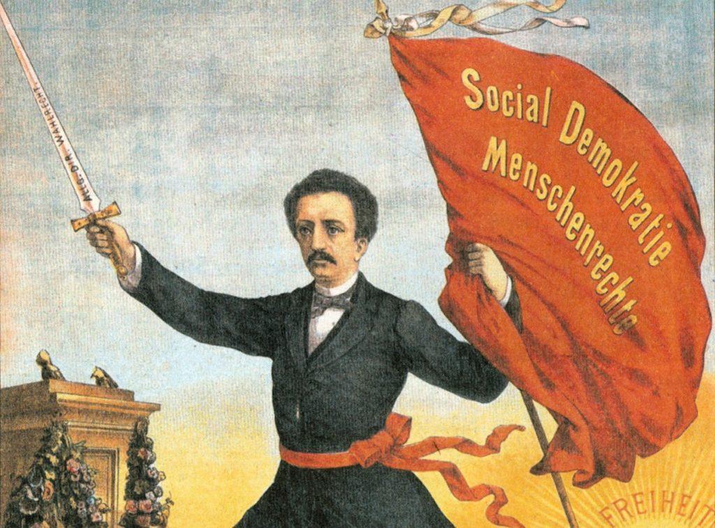 חילוקי דעות אידיאולוגיים עם מרקס, אביב העמים 1848, הקמת איגוד העובדים הגרמני הראשון: פרדיננד לסל