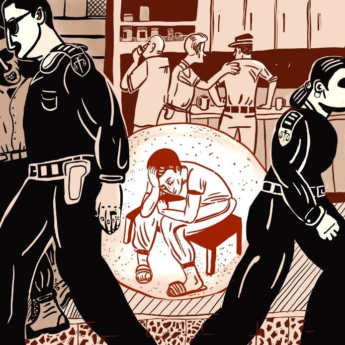 הורים נגד מעצרי ילדים: מפגש בין אמנות לזכויות אדם