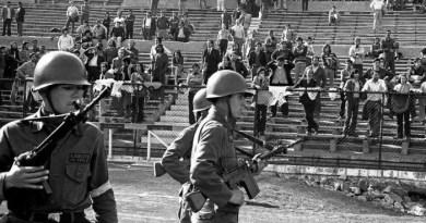 11 בספטמבר האחר, באצטדיון נאסיונאל בסנטיאגו דה צ'ילה