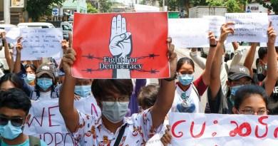 האופוזיציה במיאנמר קוראת למלחמה עממית נגד החונטה הצבאית