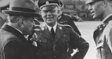 ב-15 באוקטובר 1945 הוצא להורג ראש ממשלת צרפת בזמן הכיבוש הנאצי ומשתף הפעולה פייר לאוואל