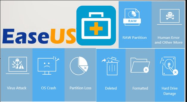 EaseUS Data Recovery Wizard 12.8 License Code [Crack] Download