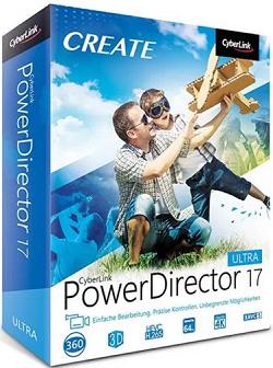 CyberLink PowerDirector 17.0.2314.1 Crack + Serial Key Download