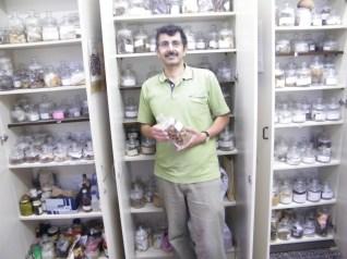 אוסף סממני המרפא, תבלין וקטורת המשמש למחקר