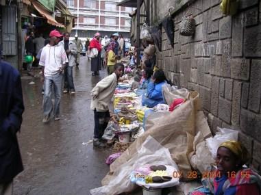שוק מוכרות התרופות, אדיס אבבא, אתיופיה