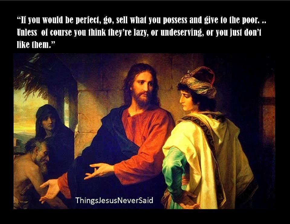 τι δεν είπε ο Χριστός